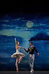 """09.04.2012. The Russian Classical Ballet bids farewell to our country with a unique performance of """"Swan Lake"""" at the Teatro Lope de Vega. Ballet in two acts and four scenes. It was an initiative by Evgeniya Bespalova. Music: Tchaikovsky Pyotrilyich. Libretto: Vladimir Begichev and Vasily Geltzer. Choreography: Marius Petipa and Lev Ivanov. Set Design: Evgeny Gurenko. Costume Designer: Irina Ivanova. (Alterphotos/Marta Gonzalez)"""
