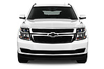Car photography straight front view of a 2016 Chevrolet Suburban 1500 LS 5 Door SUV