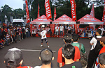 Yamaha sponsor activation during their AFF Suzuki Cup 2008. Photo by Stringer / Lagardere Sports