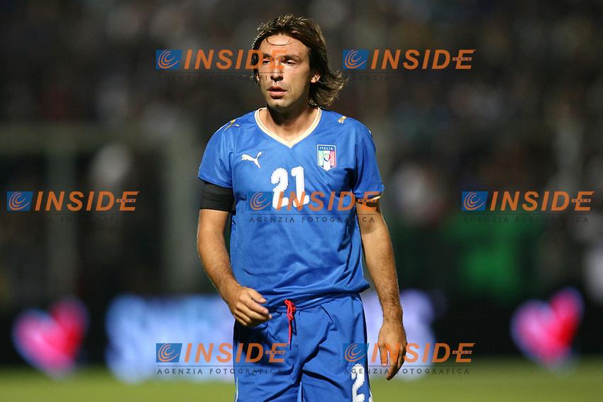 Andrea Pirlo Italia<br /> Nizza (Francia) 20/08/2008 <br /> Italia Austria 2-2 Friendly Match<br /> Foto InsideFoto