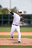 Detroit Tigers pitcher Joe Nathan (36) during a Spring Training game against the Miami Marlins on March 25, 2015 at Joker Marchant Stadium in Lakeland, Florida.  Detroit defeated Miami 8-4.  (Mike Janes/Four Seam Images)
