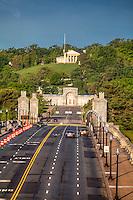 Memorial Bridge towards Arlington Cemetery