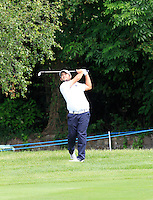 Alexander Levy (FRA) on the 10th during Round 2 of the Irish Open at Fota Island on Friday 20th June 2014.<br /> Picture:  Thos Caffrey / www.golffile.ie