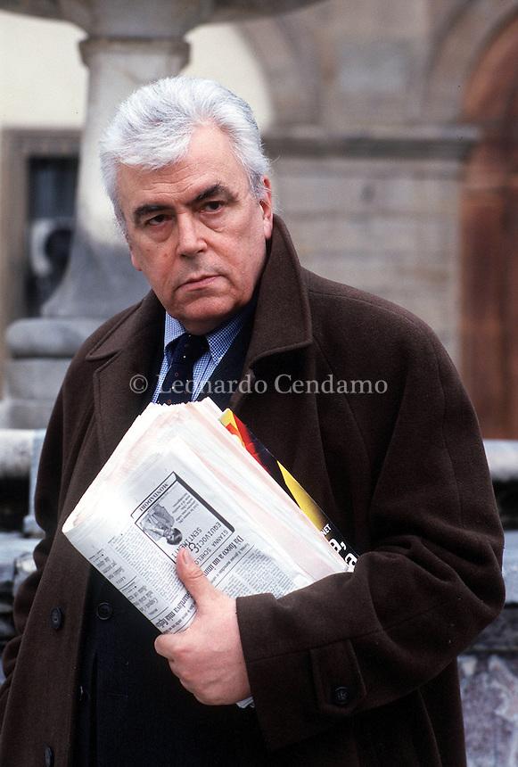 2000: LUIGI BALDACCI, WRITER © Leonardo Cendamo