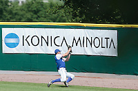 30 july 2010: Kenji Hagiwara of France catches the ball during Sweden 3-2 win over France, in day 6 of the 2010 European Championship Seniors, at TV Cannstatt ballpark, in Stuttgart, Germany.