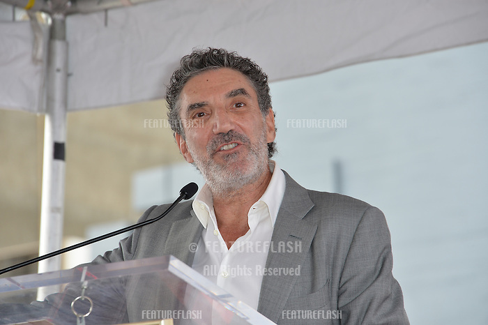 LOS ANGELES, CA. October 17, 2016: Chuck Lorre at the Hollywood Walk of Fame Star ceremony honoring actress Allison Janney.<br /> Picture: Paul Smith/Featureflash/SilverHub 0208 004 5359/ 07711 972644 Editors@silverhubmedia.com