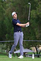 Ashley Chesters (ENG) on the 4th tee during Round 1 of the Omega Dubai Desert Classic, Emirates Golf Club, Dubai,  United Arab Emirates. 24/01/2019<br /> Picture: Golffile | Thos Caffrey<br /> <br /> <br /> All photo usage must carry mandatory copyright credit (&copy; Golffile | Thos Caffrey)