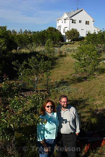 Bill and Debbie Ralson moved to the southwest corner of Salt Lake County because they wanted a little more land and be surrounded by more open space.<br />