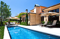 Orange County Mediterranean Home with Lap Pool
