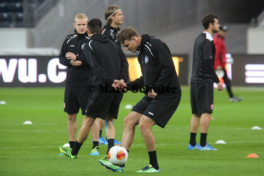Alex Meier(Eintracht) - Training zur Begegnung der Europa League Eintracht Frankfurt vs. Girondins Bordeaux