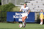 06 September 2013: Duke's Laura Weinberg. The Duke University Blue Devils hosted the West Virginia University Mountaineers at Koskinen Stadium in Durham, NC in a 2013 NCAA Division I Women's Soccer match. The game ended in a 1-1 tie after two overtimes.