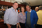 Kieran Rohan with Liam and Lorraine Hogan at Paddy Goodwin's 50th in McHughs...(Photo credit should read Jenny Matthews www.newsfile.ie)....This Picture has been sent you under the conditions enclosed by:.Newsfile Ltd..The Studio,.Millmount Abbey,.Drogheda,.Co Meath..Ireland..Tel: +353(0)41-9871240.Fax: +353(0)41-9871260.GSM: +353(0)86-2500958.email: pictures@newsfile.ie.www.newsfile.ie.