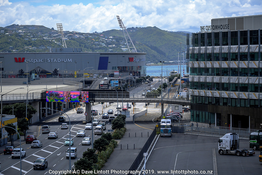 CentrePort in Wellington, New Zealand on Tuesday, 12 November 2019. Photo: Dave Lintott / lintottphoto.co.nz