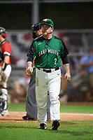 Dartmouth Big Green head coach Bob Whalen (2) during a game against the Northeastern Huskies on March 3, 2018 at North Charlotte Regional Park in Port Charlotte, Florida.  Northeastern defeated Dartmouth 10-8.  (Mike Janes/Four Seam Images)
