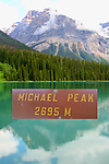 MICHEAL PEAK, YOHO NATIONAL PARK, BRITISH COLUMBIA, CANADA