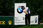 Gregory Bourdy (FRA) tees off on the 3rd tee during Day 2 of the BMW Italian Open at Royal Park I Roveri, Turin, Italy, 10th June 2011 (Photo Eoin Clarke/Golffile 2011)