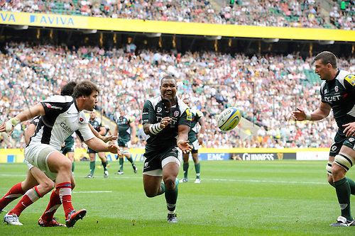 04.09.2010: Aviva Premiership Rugby Twickenham Stadium, London Wasps playing Harlequins,