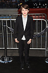 HOLLYWOOD, CA - OCTOBER 16: Actor Gabriel Bateman attends the premiere of Warner Bros. Pictures' 'Geostorm' at the TCL Chinese Theatre on October 16, 2017 in Hollywood, California.