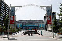 9th May 2020, Wembley Stadium, London, England; Stadium deserted during the lockdown for the Covid-19 virus