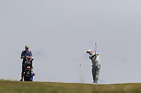 Sam Brazel (AUS) plays his 2nd shot on the 6th hole during Thursday's Round 1 of the Dubai Duty Free Irish Open 2019, held at Lahinch Golf Club, Lahinch, Ireland. 4th July 2019.<br /> Picture: Eoin Clarke | Golffile<br /> <br /> <br /> All photos usage must carry mandatory copyright credit (© Golffile | Eoin Clarke)