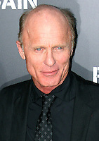 """Ed Harris  Celebrities gathered at The TCL Chinese Theatre in Hollywood to attend the Los Angeles premiere of Paramount Picture's  PAIN & GAIN on April 22, 2013.<br /> Cast members and filmmakers attending include: Mark Wahlberg (Daniel Lugo), Dwayne Johnson (Paul Doyle), Michael Bay (Director), Anthony Mackie (Adrian Doorbal), Rebel Wilson (Robin Peck), Ed Harris (Ed Du Bois), Tony Shalhoub (Victor Kershaw), Rob Corddry (John Mese), Ken Jeong (Jonny Wu), Bar Paly (Sorina Luminita), Christopher Markus (Screenwriter), Stephen McFeely (Screenwriter), Donald DeLine (Producer)<br /> ABOUT PAIN & GAIN: <br /> From acclaimed director Michael Bay comes """"Pain & Gain,"""" a new action comedy starring Mark Wahlberg, Dwayne Johnson and Anthony Mackie. Based on the unbelievable true story of a group of personal trainers in 1990s Miami who, in pursuit of the American Dream, get caught up in a criminal enterprise that goes horribly wrong. Release Date:  April 26, 2013. Photo by Hilda Lazarte/ Unimedia/ DyD Fotografos"""