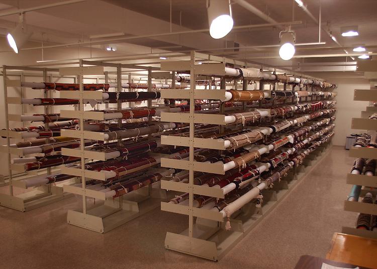 15048Kennedy Museum Navajo Rugs Storage Facility