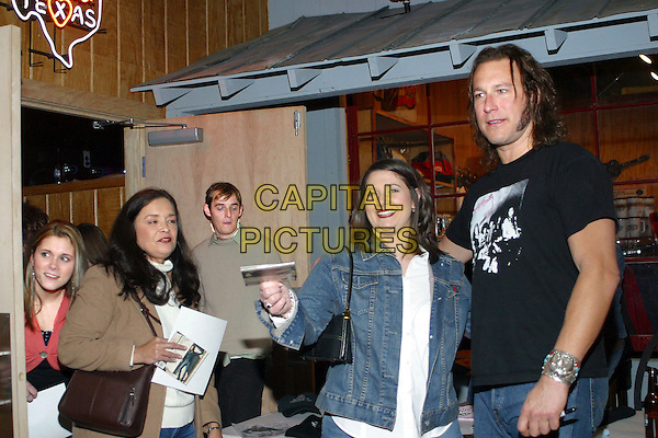 JOHN CORBETT & FANS.Is embarking on a music career and played a concert to a near sold-out crowd at the new Nashville Palace, Nashville, Tennessee, USA..February 18th, 2006.Photo: Randi Radcliff/AdMedia/Capital Pictures.Ref: RR/ADM.half length.www.capitalpictures.com.sales@capitalpictures.com.© Capital Pictures.