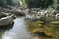 - National park of Cilento and Vallo di Adriano (Salerno), Natural Reserve Gole del Calore....- Parco Nazionale del Cilento e Vallo di Diano (Salerno), Riserva Naturale Gole del Calore