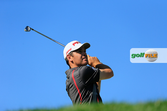 Louis Oosthuizen (RSA) during round 3 of the Turkish Airlines Open presented by the Ministry of Tourism and Culture, hosted at the The Montgomerie Maxx Royal,Antalya,Turkey.<br /> Picture: Fran Caffrey www.golffile.ie