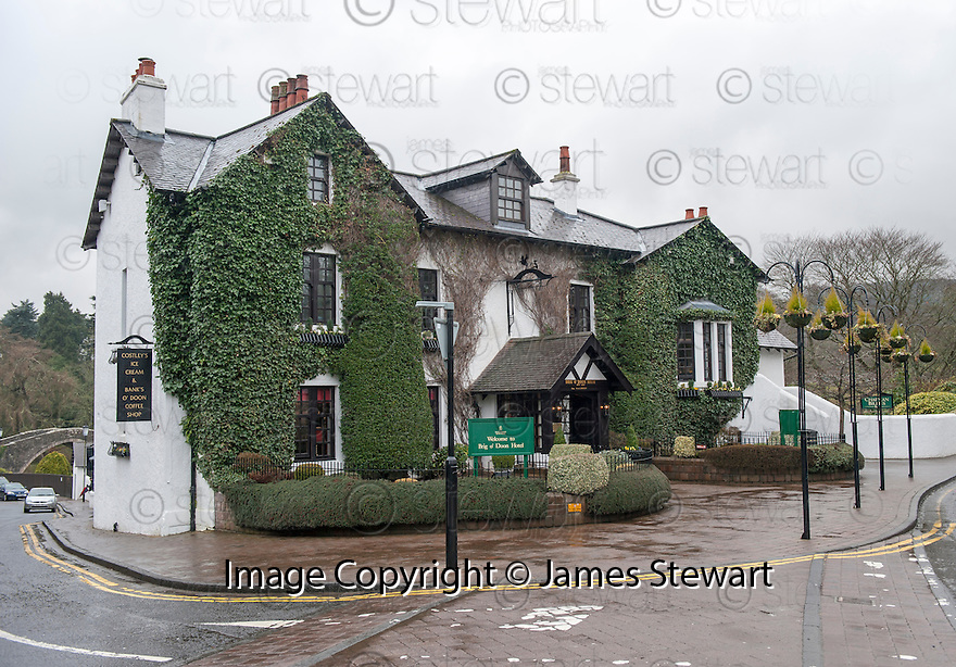 The Brig O'Doon House Hotel, Alloway, the location for the wedding of Steven Naismith and Moya Jane Farrell.