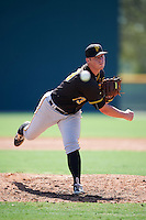 Pittsburgh Pirates pitcher Adam Oller (73) during an Instructional League Intrasquad Black & Gold game on September 20, 2016 at Pirate City in Bradenton, Florida.  (Mike Janes/Four Seam Images)