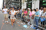Cast member As The World Turns' Yvonne Perry hands out flyers to the fans -  as Empire The Series, the Internet's Hottest Soap Opera, returns this Summer 2012 for its 4th season - Sex.Scandal.Soap. as they march in the NYC Gay Pride Parade 2012 on June 24, 2012 from Fifth Avenue and 38th to the Village, New York City, New York. Check them out at Empiretheseries.com (Photo by Sue Coflin/Max Photos)
