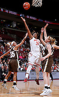 Ohio State Buckeyes guard Raven Ferguson (31) shoots during the second half of the NCAA women's basketball game at Value City Arena on Wednesday, November 27, 2013. (Columbus Dispatch photo by Jonathan Quilter)