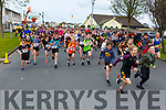 """The start of the Paul Lucey Memorial """"Run for the Rock"""" in the Austin Stacks GAA Club on Monday morning."""
