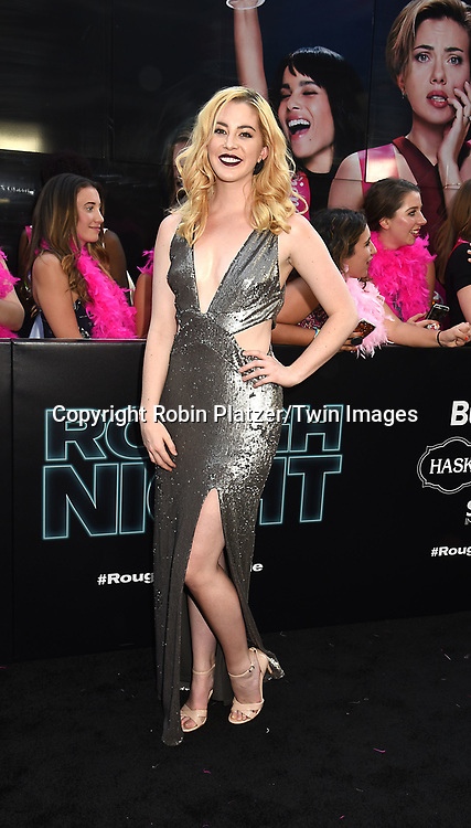 attends the &quot;Rough Night&quot; World Premiere on June 12, 2017 at AMCLowes Lincoln Square 13 in New York, New York, USA.<br /> <br /> photo by Robin Platzer/Twin Images<br />  <br /> phone number 212-935-0770