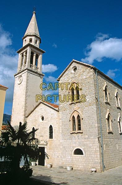Saint Ivan, Saint John, Catholic Church, Budva, Montenegro, Former Yugoslavia.
