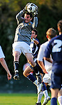 15 October 2008: University of Vermont Catamount goalkeeper Roger Scully, a Senior from East Lyme, CT, in action against the University of New Hampshire Wildcats at Centennial Field, in Burlington, Vermont. The Wildcats and Catamounts battled in overtime to a 0-0 tie...Mandatory Photo Credit: Ed Wolfstein Photo