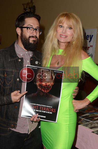 David McAbee, Laurene Landon<br /> at the San Fernando Valley Comic Book Convention, Granada Pavilion, Granada Hills, CA 08-14-16<br /> David Edwards/DailyCeleb.com 818-249-4998
