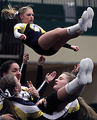 District Cheerleading at Lake Orion, 2/20/16