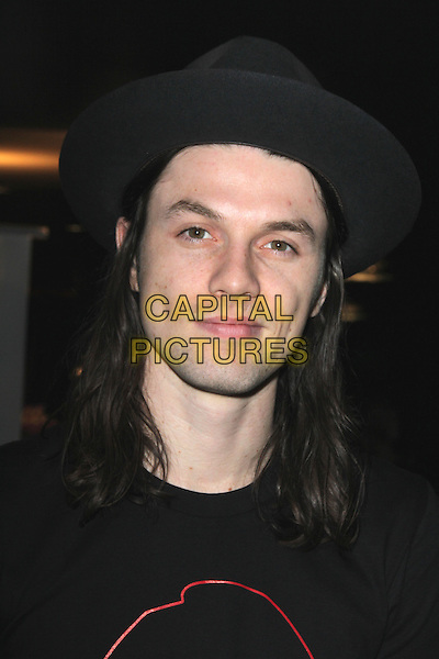 LOS ANGELES, CA - FEBRUARY 12: James Bay at the 2016 Grammys Radio Row Day 1 presented by Westwood One, Staples Center, Los Angeles, California on February 12, 2016.   <br /> CAP/MPI/DE<br /> &copy;DE//MPI/Capital Pictures