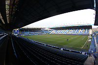 A general view of Hillsborough Stadium the home of Sheffield Wednesday Football Club<br /> <br /> Photographer Mick Walker/CameraSport<br /> <br /> The EFL Sky Bet Championship - Sheffield Wednesday v Preston North End - Saturday 22nd December 2018 - Hillsborough - Sheffield<br /> <br /> World Copyright &copy; 2018 CameraSport. All rights reserved. 43 Linden Ave. Countesthorpe. Leicester. England. LE8 5PG - Tel: +44 (0) 116 277 4147 - admin@camerasport.com - www.camerasport.com
