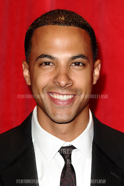 Marvin Humes arriving for the 2014 British Soap Awards, at the Hackney Empire, London. 24/05/2014 Picture by: Steve Vas / Featureflash