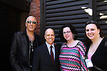 Dee Snider (Twisted Sister) and Celebrity Apprentice and Scott Hamilton with Jennifer Niederhoffer & Meredith Topal - The 2012 Skating with the Stars - a benefit gala for Figure Skating in Harlem celebrating 15 years on April 2, 2012 at Central Park's Wollman Rink, New York City, New York.  (Photo by Sue Coflin/Max Photos)
