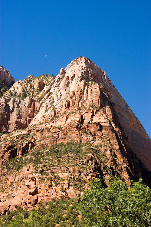 Zion National Park, Utah, UT, rock formation, landform, Southwest America, American Southwest, US, United States, Image ut380-17659, Photo copyright: Lee Foster, www.fostertravel.com, lee@fostertravel.com, 510-549-2202
