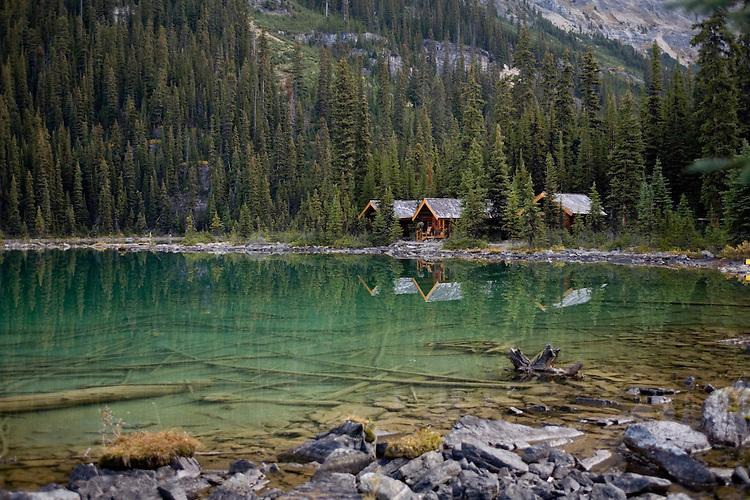 Quiet waters of Lake O'Hara, Yoho NP