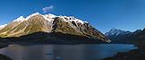 NEW ZEALAND, Aoraki Mount Cook National Park, Hooker Lake, Ben M Thomas