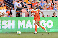 Houston, TX - Sunday June 19, 2016: Poliana during a regular season National Women's Soccer League (NWSL) match between the Houston Dash and FC Kansas City at BBVA Compass Stadium.