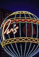 Paris Las Vegas hotel and casino, Las Vegas Boulevard (the Strip), Las Vegas, Nevada USA