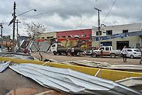 JARINU,SP, 06.06.2016 - TORNADO JARINÚ. Uma forte chuva atingiu a cidade de Jarinu, interior de São Paulo, na noite de domingo, 05/06. Os metereologistas dizem que é o mesmo fenômeno que atingiu a cidade de Campinas na noite do último sábado o qual estão chamando de micro-explosão, quando uma chuva volumosa caiu de uma vez, deslocando assim uma grande quantidade de ar. ( Foto: Mauricio Bento/ Brazil Photo Press)