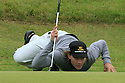 SOUTHPORT, LANCASHIRE - JULY 17: Camilo Villegas of Columbia lines up a putt on the 11th green during the first round of the The Open Championship 2008 played at Royal Birkdale Golf Club on July 17, 2008 in Southport, Lancashire. ( Picture by Phil Inglis ).... ......